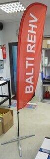 Reklaamlipp logoga - Balti Rehv
