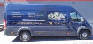 Reklaamkleebised autole - Stoveman