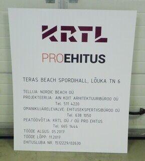 Objektisilt - KRTL/Pro Ehitus