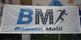 Tekstiilist logobänner - Baanan Maili