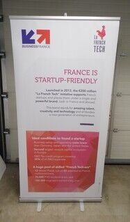 Roll up stend - BusinessFrance