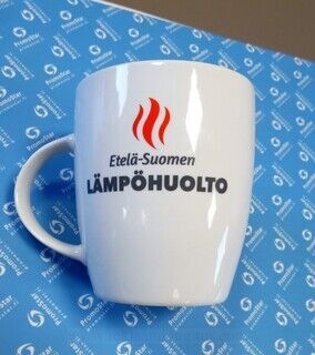Logoga kohvikruus