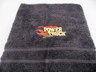 Logoga saunalina - Power Truck Show
