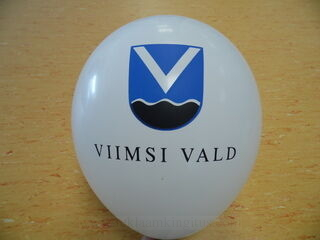 Logoga õhupall - Viimsi vald
