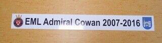 Reklaamkleebised - EML Admiral Cowan