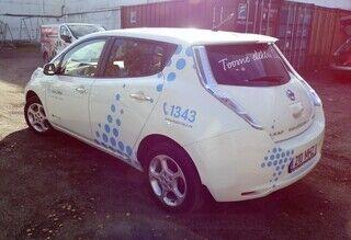 Auto reklaamkleebised - Elektrilevi