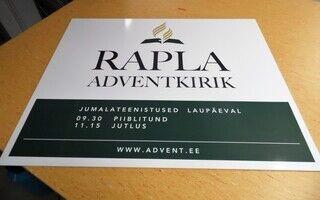 Infosilt - Rapla Adventkirik