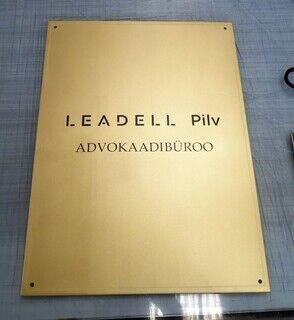 Fassaadisilt - Leadell Pilv
