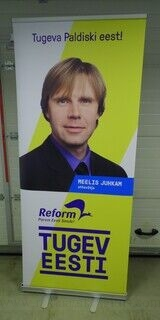 Reklaamstend - Reformierakond