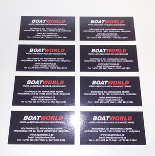 Reklaamkleebised - Boatword