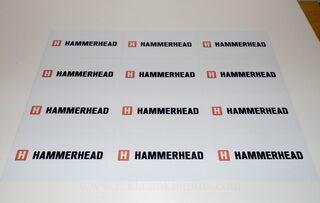 Logokleebised - Hammerhead