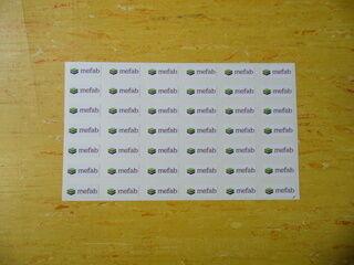 Logokleebised - Mefab