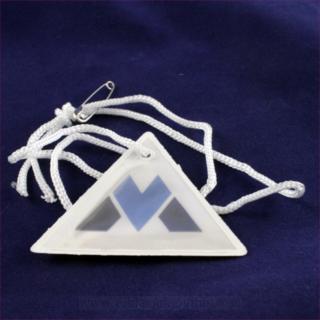 Viljandi metall logoga helkur
