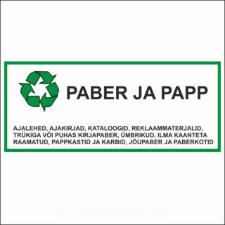 Paber ja papp silt