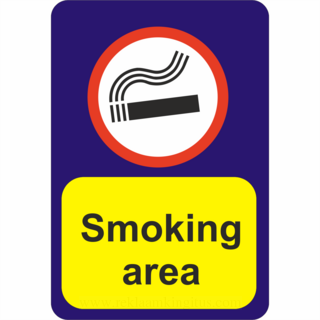 Infosilt - Smoking area