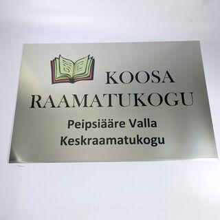 Fassaadisilt - Koosa Raamatukogu
