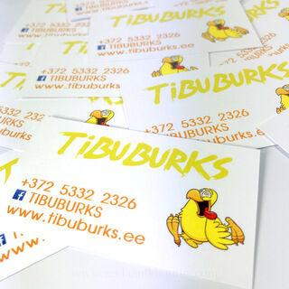 Reklaamkleebised - Tibuburks