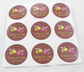 Logokleebised - Triibu & Liine päevahoid