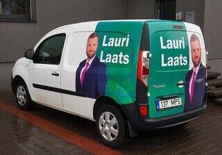 Reklaamauto - Lauri Laats