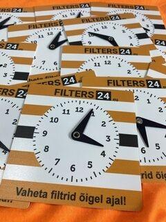 Parkimiskellad logoga - Filters24