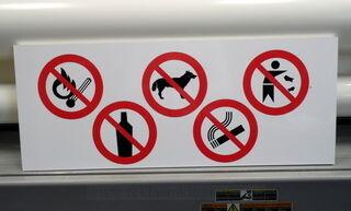 Hoiatussilt plastikust