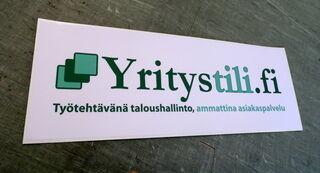 Yritystili.fi reklaamkleebis