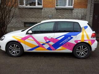 Promostar reklaamkleebised autole