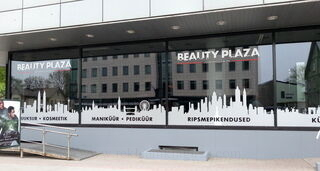 Beauty Plaza reklaamkleebised