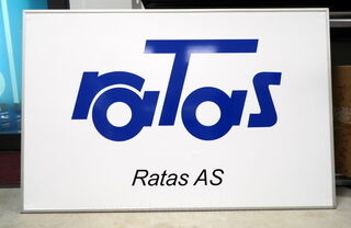 Ratas AS logosilt