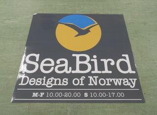 Seabird fassaadikleebis
