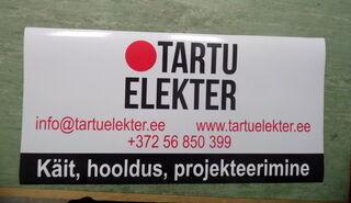 Magnetkleebis Tartu Elekter