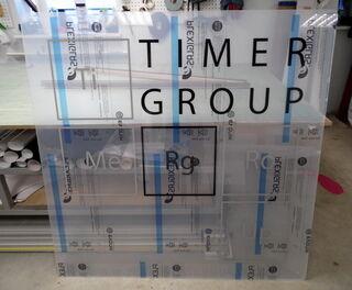 Timer Group fassaadisilt