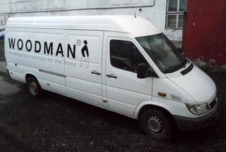 Woodman autokleebis