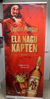 Captain Morgan roll up