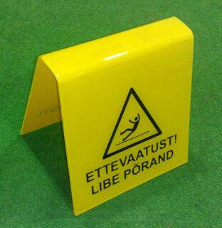 SILT - ettevaatust libe põrand