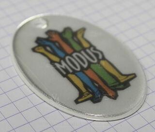 Modus - helkur logoga