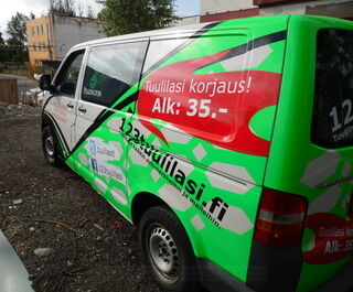 Auton teippaus 123tuulilasi.fi