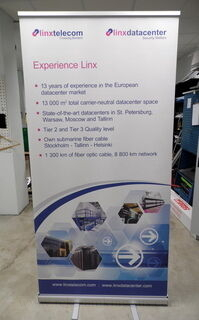 1000x2000 mm Roll Up Linx telecom
