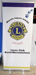 Roll-Up Lions Club Kemi/Merenhelmet