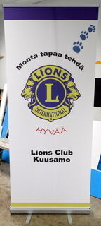 Roll-Up Lions Club Kuusamo
