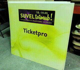 Ticketpro mainostaulu