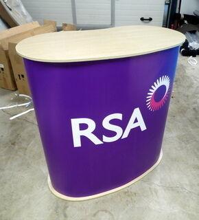 Messupöytä RSA