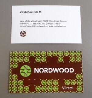 Käynttikortti Nordwood