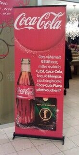 Roll-Up Coca-Cola