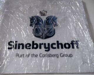 Mainostarra Sinebrychoff