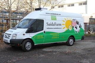 Auton teippaus Saida Farm