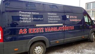 Eesti Vanglatööstus autokleebised