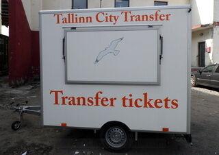 Tallinn City Transfer kaubiku kleebised