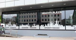 Beauty Plaza fassaadikleebised