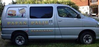 Autokleebised Papan palju karavaani